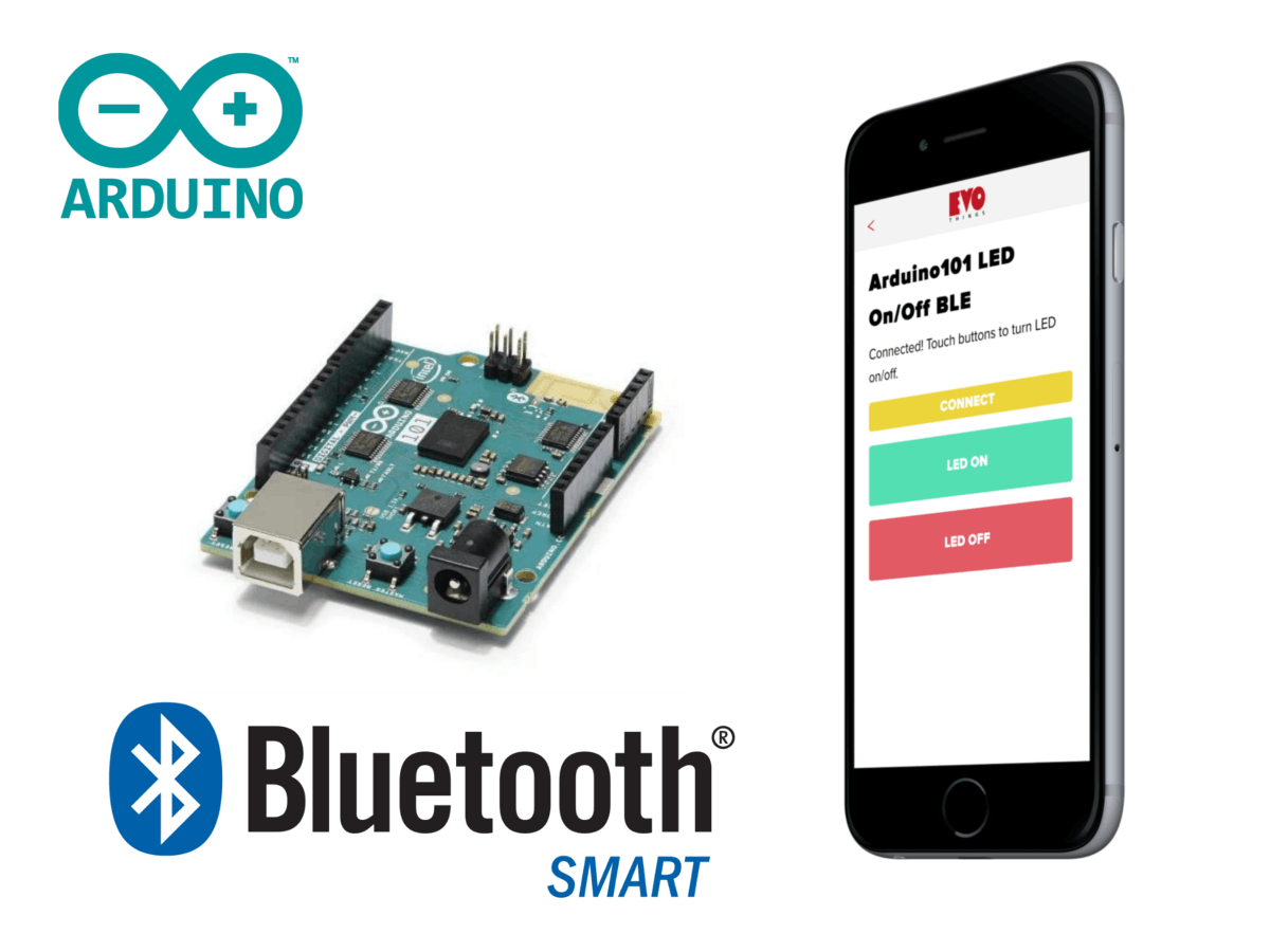 Build your own app that connects to Arduino/Genuino 101