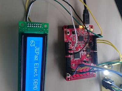 I2C LCD PSoC4
