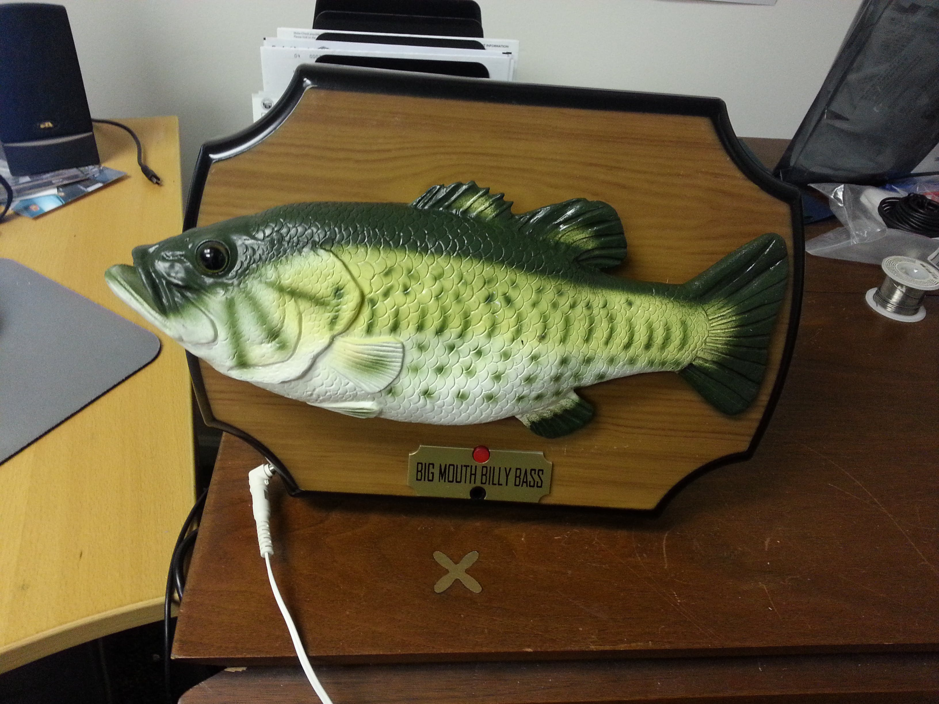 C.H.I.P. - Big Mouth Billy Bass Fish