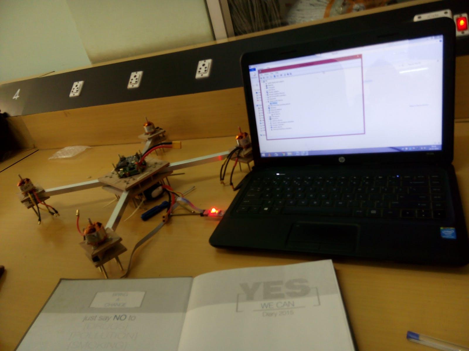 Intelligence Monitoring Drone System
