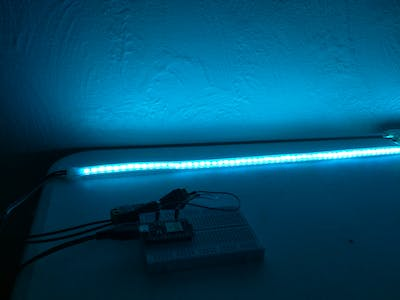 Colorful Home Lighting Control with Xamarin, Particle Photon