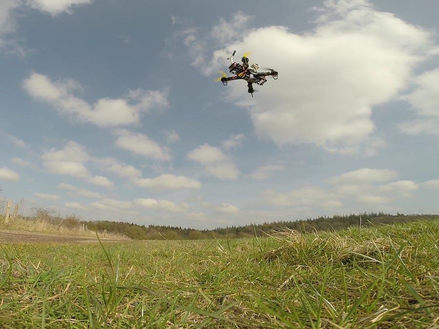 Flying BeagleBone Green