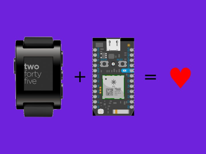 Control your Particle Photon from a Pebble smartwatch