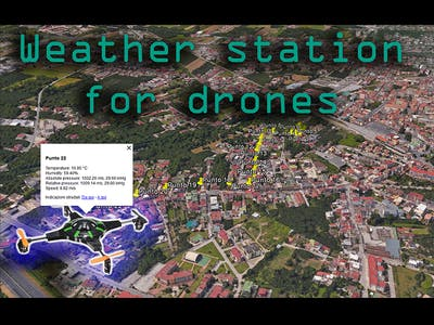 Weather Station for Drones