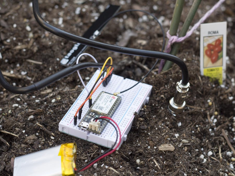Plant Health Monitor Using the Particle Electron