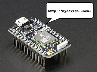 IoT Device Management with mDNS and Webduino