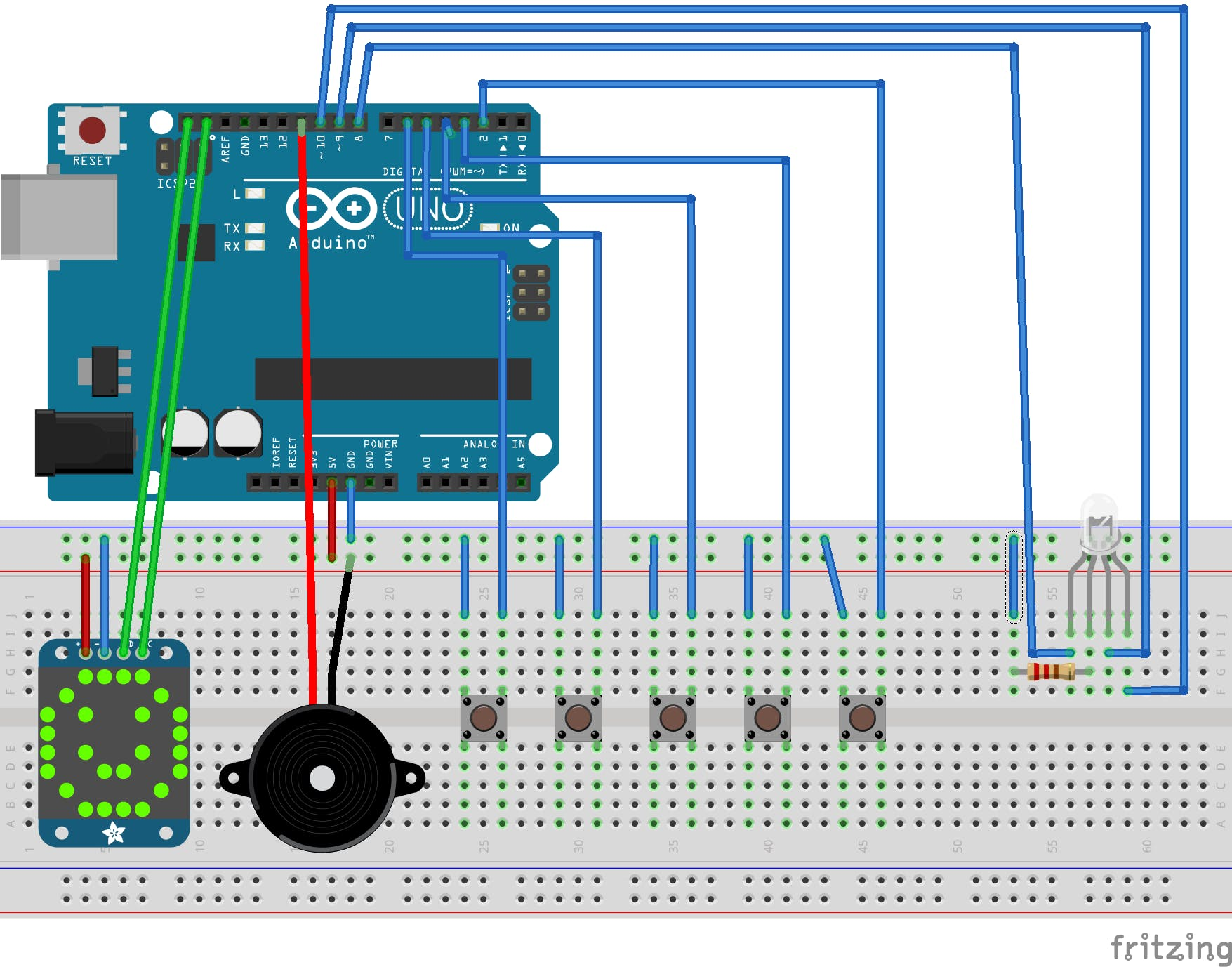 Arduino Musical WiFi Analyzer