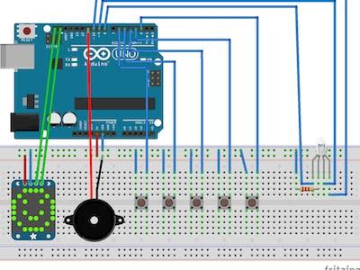 Arduino Musical WiFi Analyzer