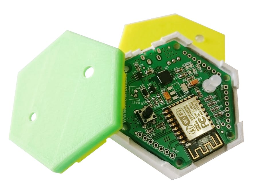 1btn - An open source WiFi connected IoT button