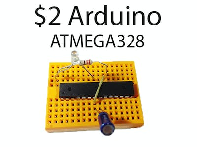 The ATMEGA328 As A Stand-alone