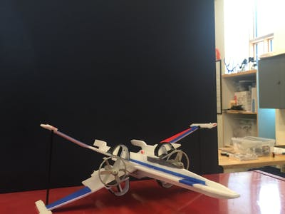 RC X-Wing Fighter Plane