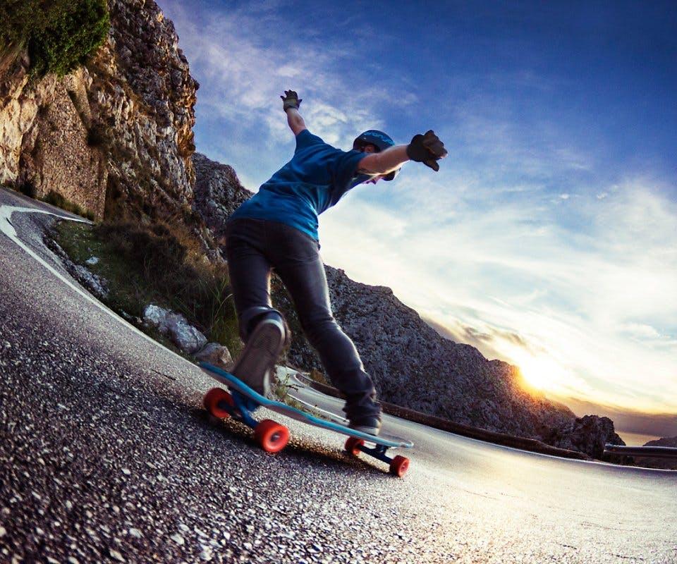 Arduino MKR1000 skateboard