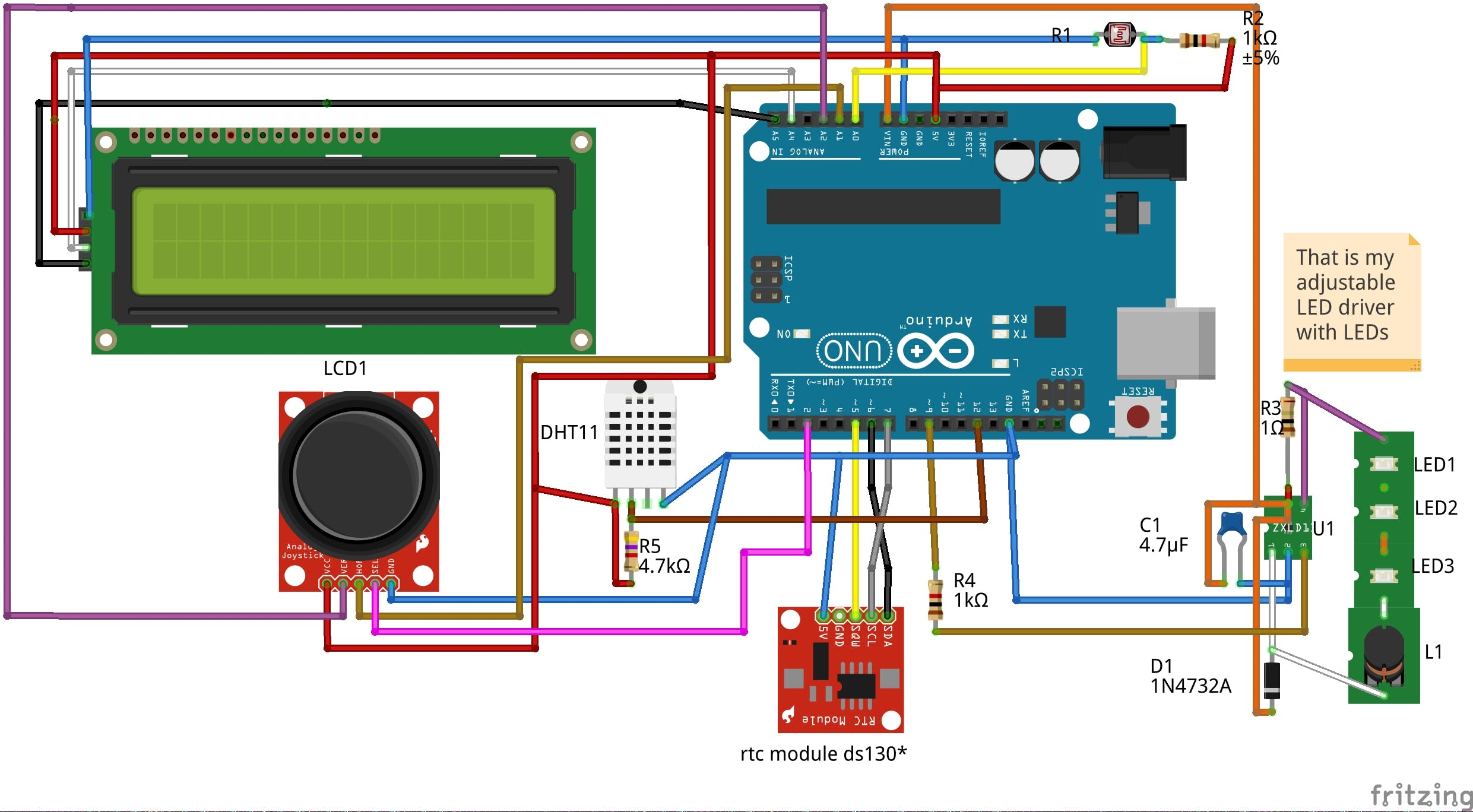 Sensal All Senses Alarm Clock Arduino Project Hub