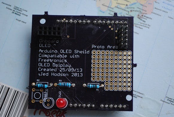 Freetronics OLED Shield