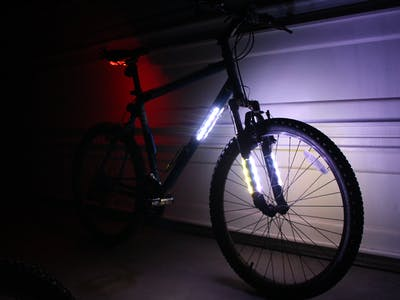 Light your Bike, and use your Phone to Control It