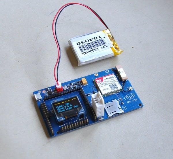 BPI-GSM module with arduino