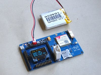 BPI-GSM module with arduino