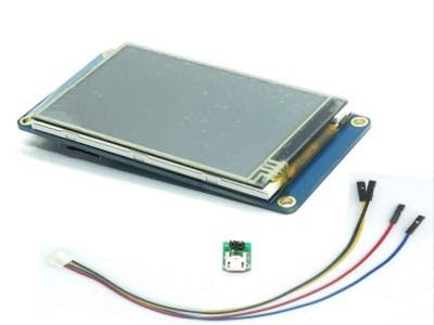 Nextion LCD Touchscreen Tutorial for Arduino