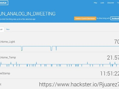 Arduino YUN IoT for Home monitoring using dweet.io