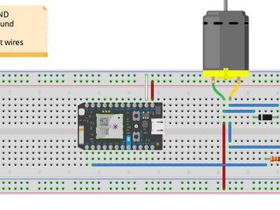 Particle Photon Motor Control