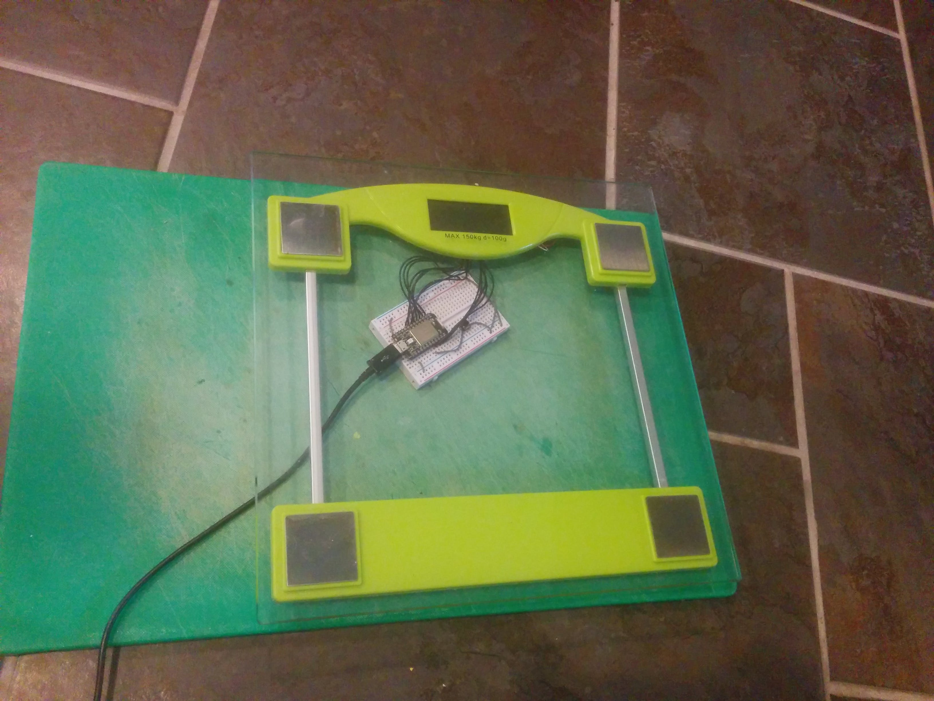 Internet Connected Bathroom Scales