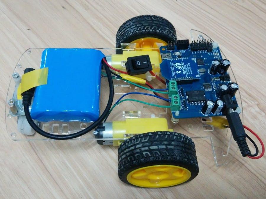 Joystick Wireless Remote Control Car