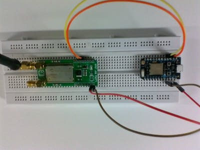 LoRa project with RN2483 and Particle Photon