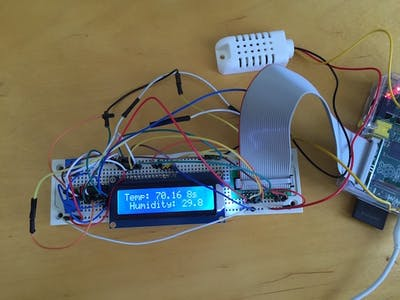 Temperature and Humidity Monitor in Swift on Raspberry Pi