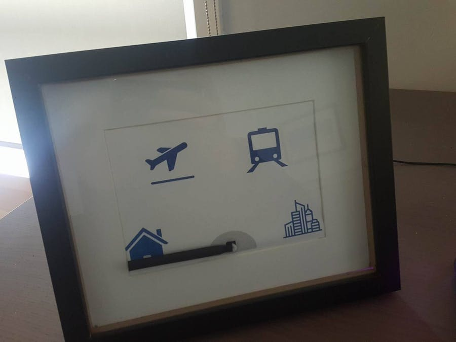 Where am I? Photo Frame that Shows your Location