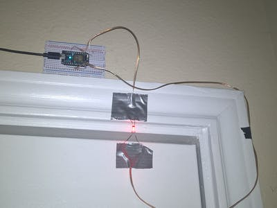 Apartment Motion Detector Security System