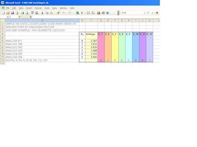 Arduino to Excel using V-USB
