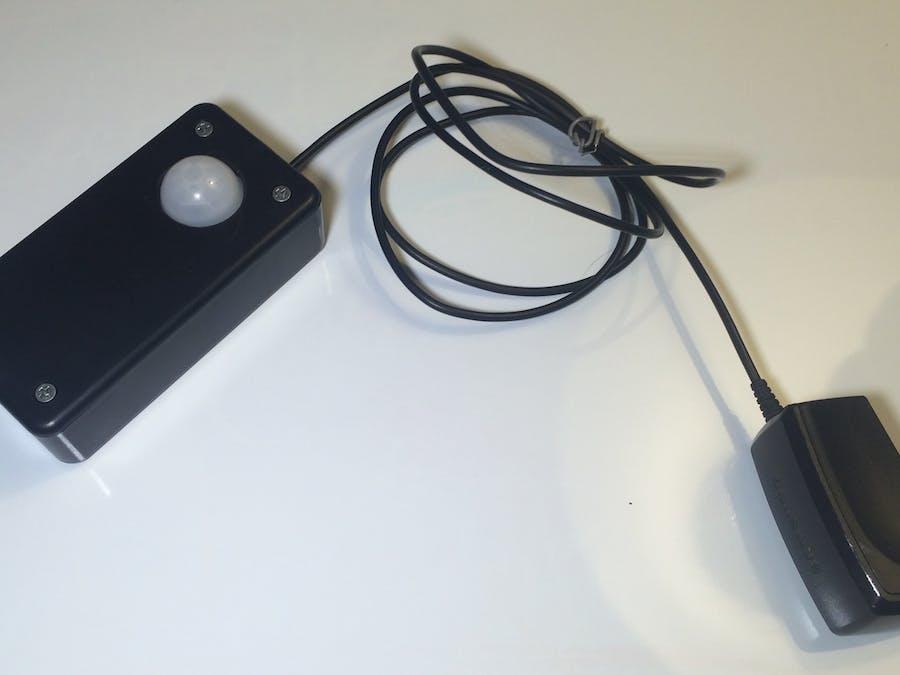 Mobile Monitored Motion Sensor