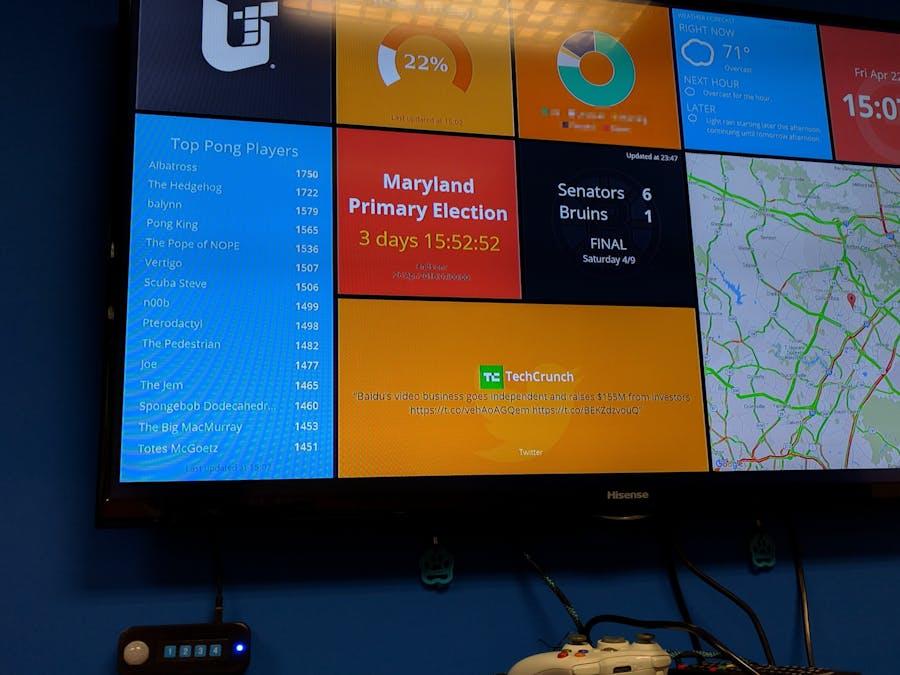 Multi-Dashboard Display with Arduino Controller