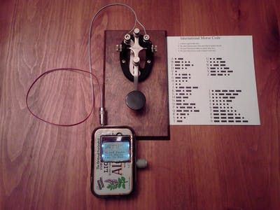 Magic Morse on Arduino