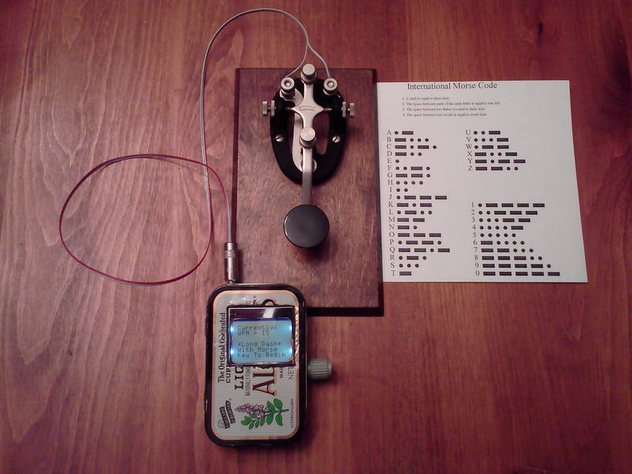 Magic Morse on Arduino - Hackster io