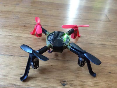 3D-Printed Quadcopter
