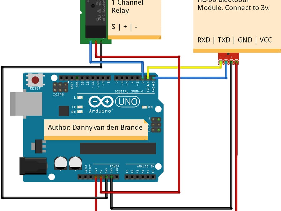 Arduino/Android - BLUETOOTH Voice Panic Alarm With APP - Hackster io