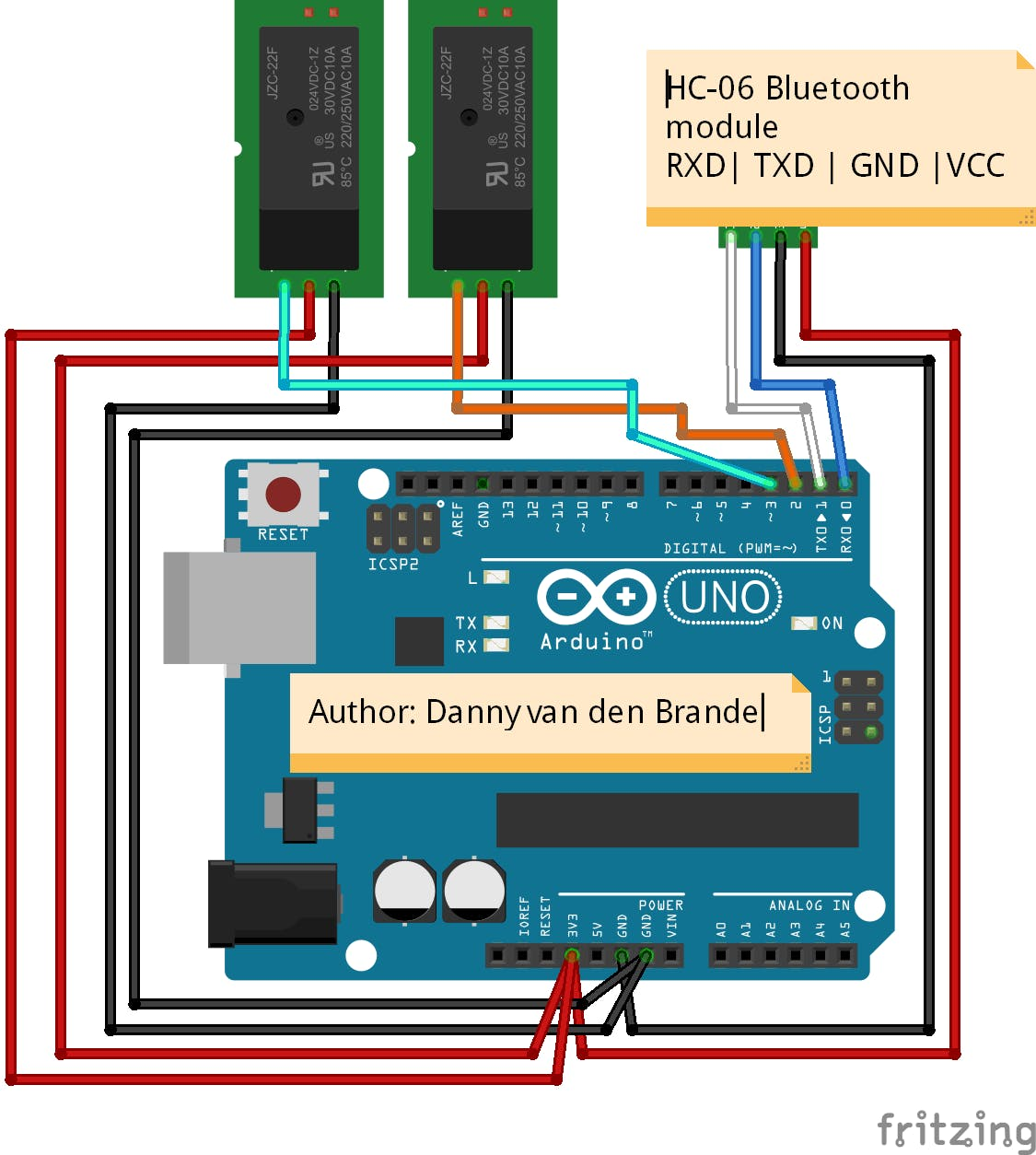 Arduino - Home Control With Bluetooth And Voice