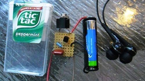 Single Transistor Audio Amp