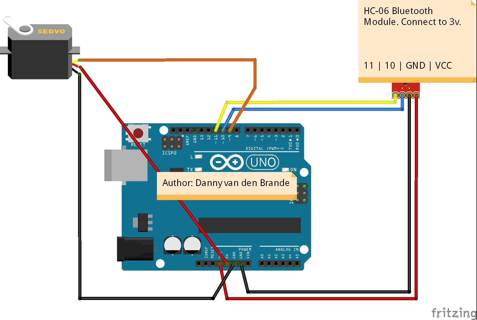 Arduino uno servo wiring diagrams data wiring diagrams arduino android bluetooth servo motor control android app rh hackster io arduino uno board schematic arduino asfbconference2016 Choice Image