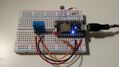 Multiple Sensors: Particle Proton + ThingSpeak