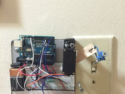 Bluetooth Controlled Light Switch