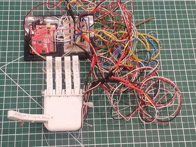 3D-Printed Controllable Hand