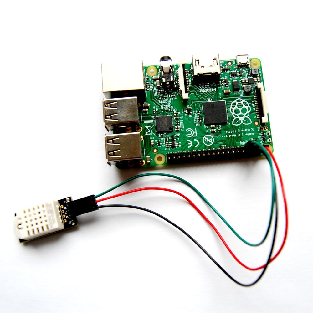 Temperature and Humidity Sensor Raspberry Pi IOT
