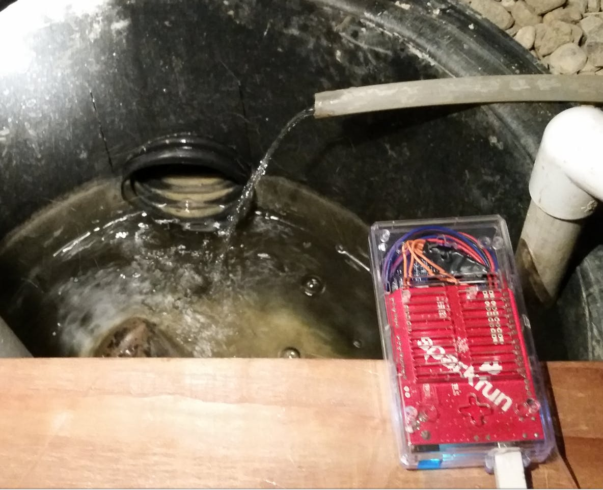 Smart Sump Pump Monitor