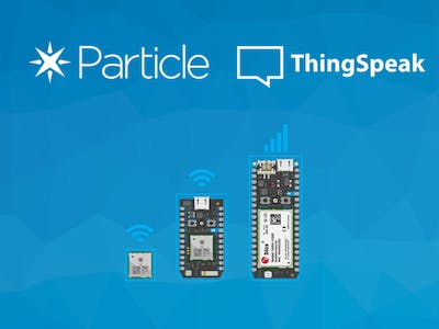 Particle Photon & Thingspeak