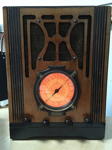 Antique Radio Podcast Player