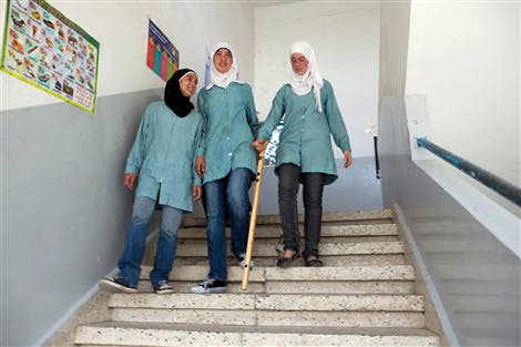 eGFI – Student Blog > Palestinian Girls Invent Smart Cane