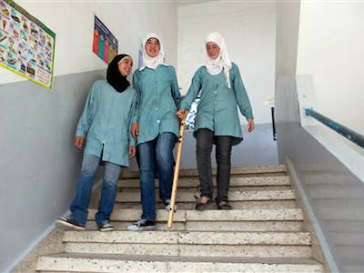 eGFI – Student Blog > Palestinian Girls Invent Smart Cane
