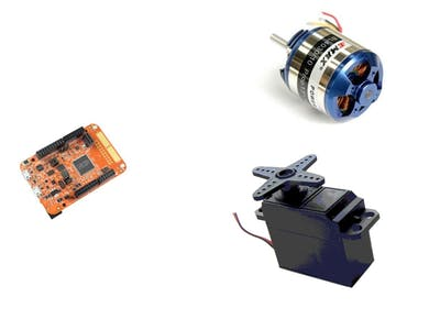 FRDMK82F Servo and Brushless Motor Control